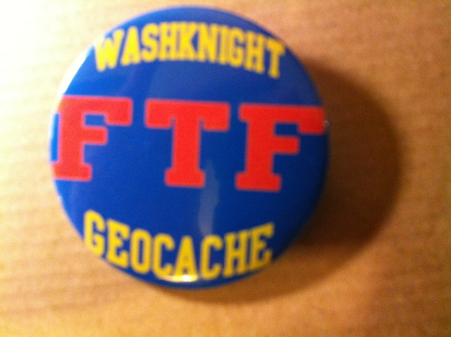 Washknight FTF Badge
