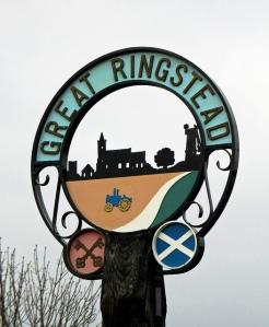Ringstead Village Sign