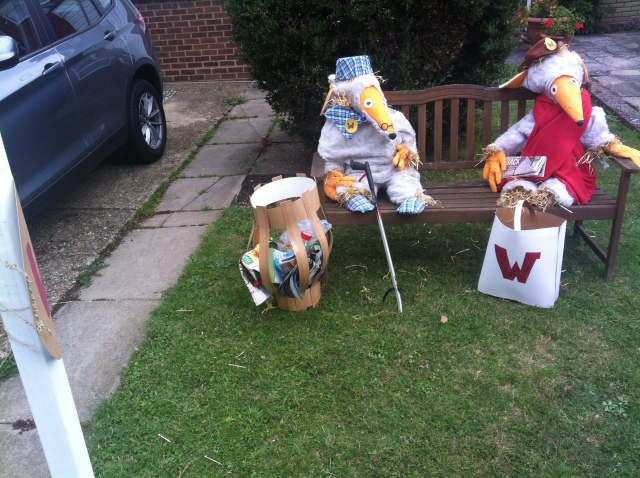 Womble Scarecrows