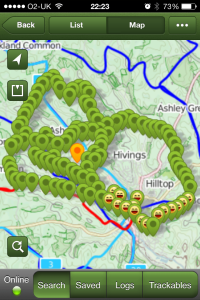 The Chiltern Hundred Geocaches