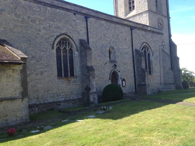 A photo of a church