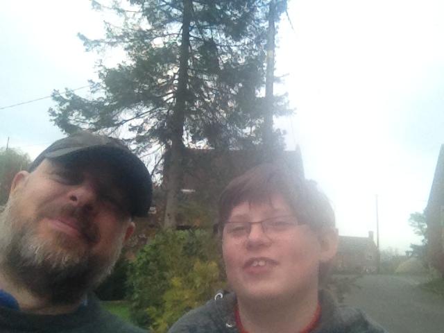 Paul and Sam Selfie